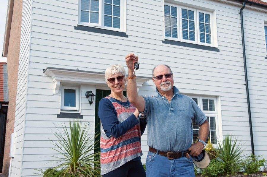 Couple find their ever after home
