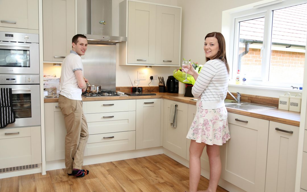 First time buyers leap on to the property ladder in Telford
