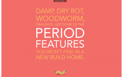 1. DAMP, DRY ROT, WOODWORM, DRAUGHTS, JUST SOME OF THE PERIOD FEATURES YOU WON'T FIND IN A NEW BUILD HOME.
