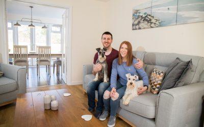 Couple swap city living for Bursledon home