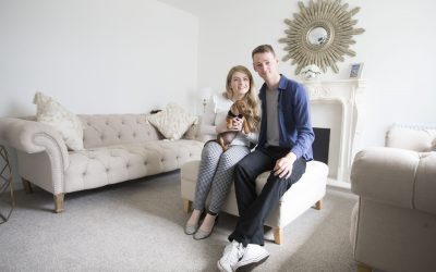 Puppy Love For Young Couple At Barratt's Antonine Way Development